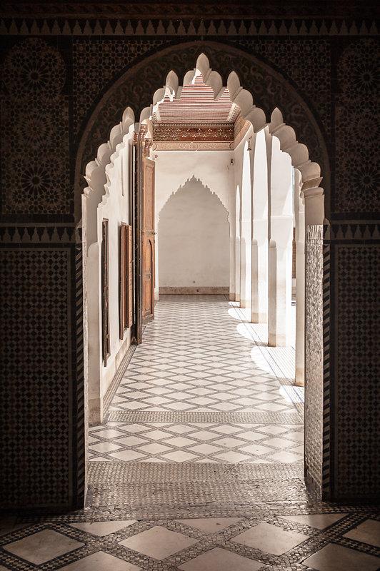 Marrakesch, Palais de la Bahia